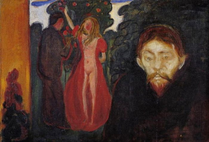 Эдвард Мунк. Ревность, 1895 г.