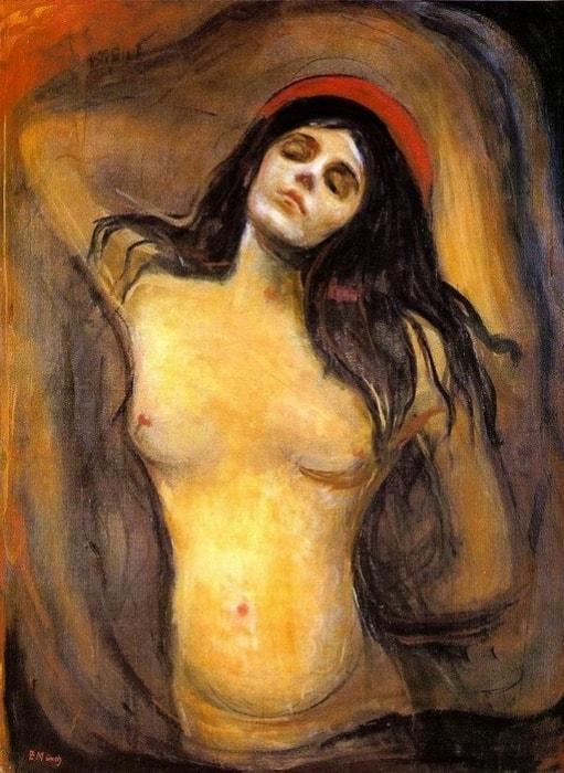 Эдвард Мунк. Мадонна, 1894-1895   Фото: artchive.ru
