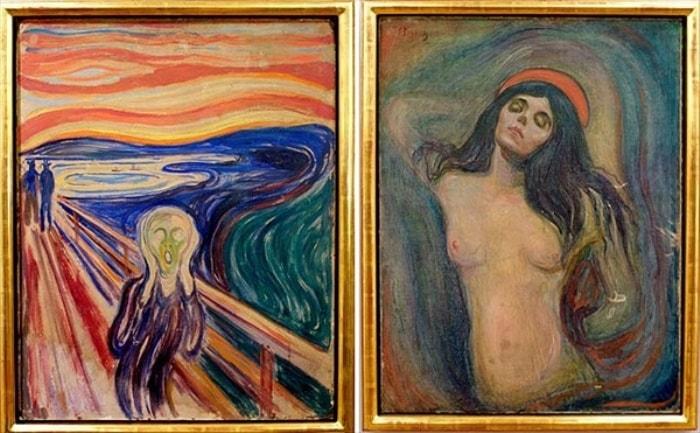 Картины *Крик* и *Мадонна* были похищены из музея в 2004 г.   Фото: etoday.ru