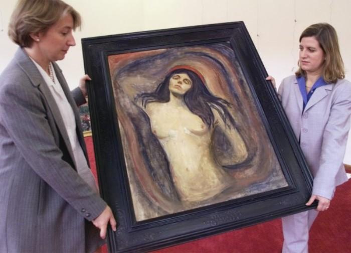В 2006 г. *Мадонну* вернули в музей Мунка в Осло   Фото: rg.ru