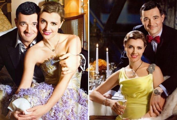 Одна из самых красивых актерских пар | Фото: liveinternet.ru, spletnik.ru