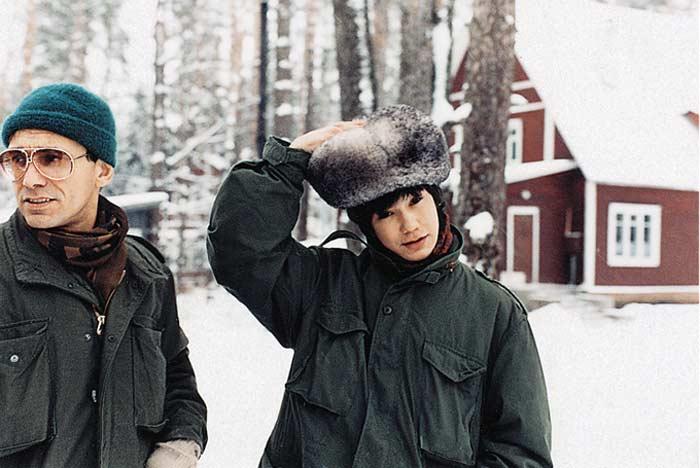 Егор Кончаловский с отцом | Фото: stuki-druki.com