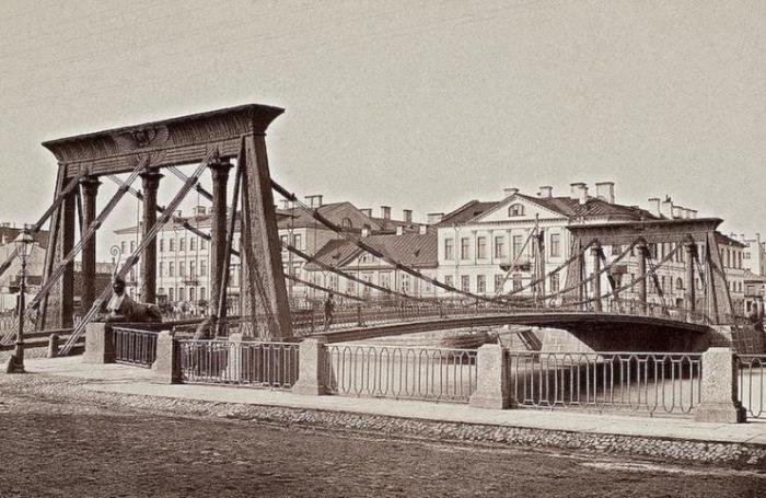 Египетский мост в Санкт-Петербурге | Фото: oldsp.ru
