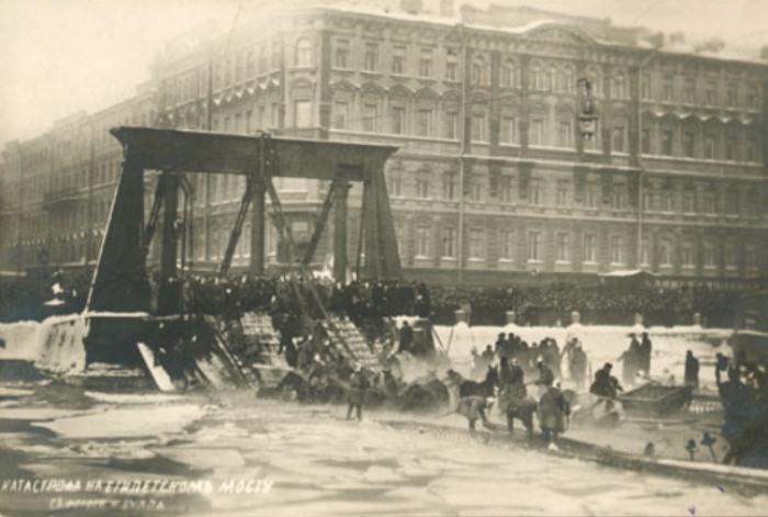 Катастрофа на Египетском мосту, 1905 | Фото: rufact.org