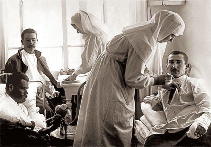 Сестры милосердия стали настоящими героинями многих войн | Фото: lisvisnyk.at.ua