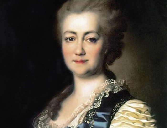 Д. Левицкий. Портрет Екатерины Дашковой, ок. 1784. Фрагмент | Фото: liveinternet.ru