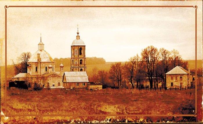 Село Троицкое, в котором Е. Дашкова провела последние годы жизни | Фото: kp40.ru