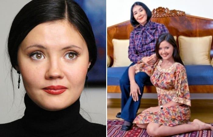Екатерина Двигубская с матерью