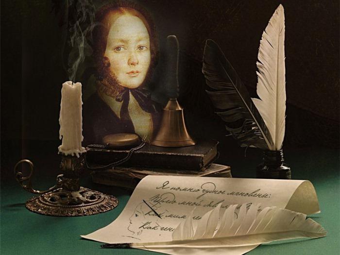 А.П. Керн, вдохновившая А. Пушкина на создание стихотворения *Я помню чудное мгновенье*   Фото: liveinternet.ru