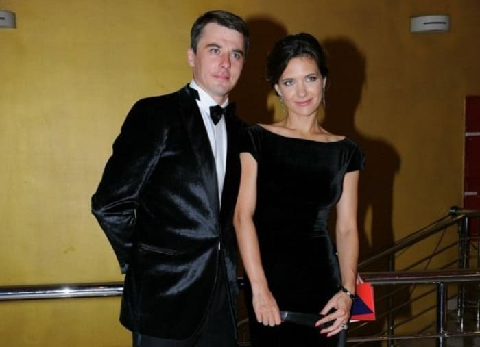 Актриса со своим вторым мужем   Фото: teleprogramma.pro