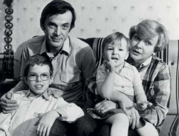 Екатерина Маркова с семьей | Фото: biographe.ru