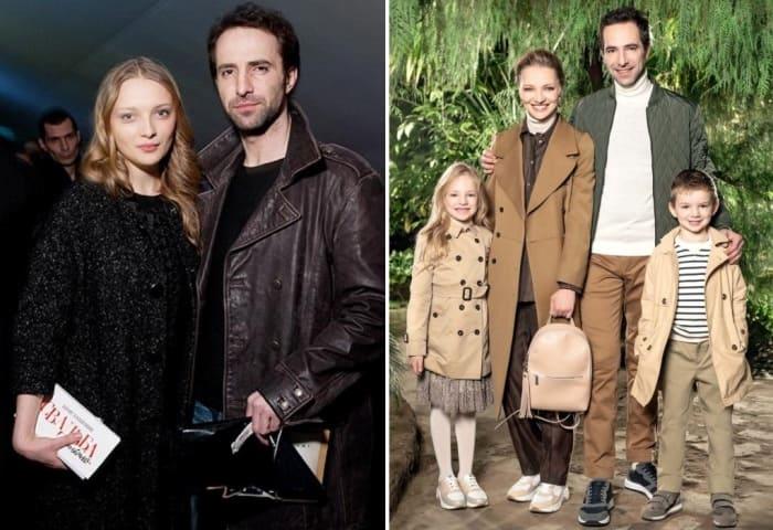 Актриса с мужем и детьми | Фото: kino-teatr.ru