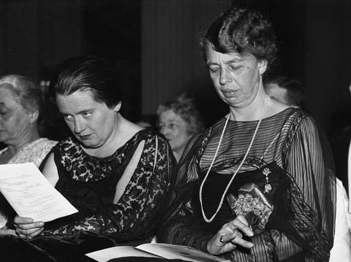 Элеонора Рузвельт и Лорена Хикок | Фото: dailymail.co.uk