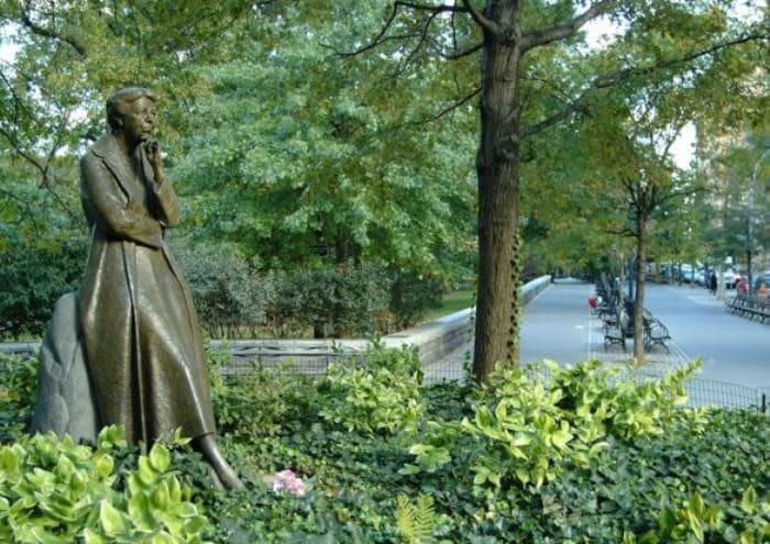 Памятник Элеоноре Рузвельт в Нью-Йорке | Фото: svoboda.org