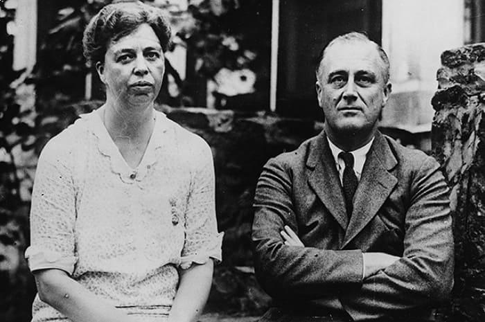 Элеонора Рузвельт с мужем | Фото: newsmir.info