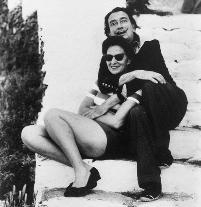 Сальвадор Дали и Гала | Фото: historytime.ru