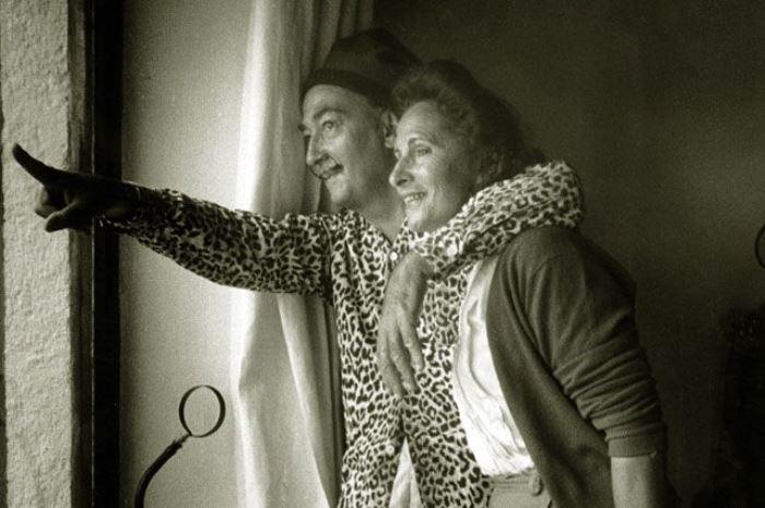 Сальвадор Дали и Гала, 1957 | Фото: aif.ru