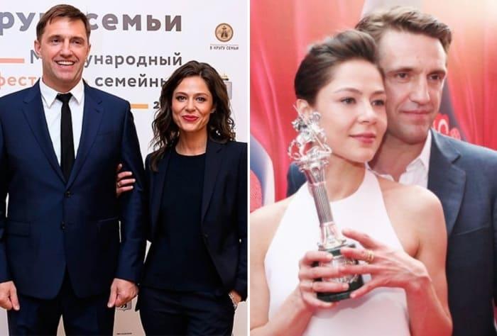 Одна из самых успешных и самых закрытых актерских пар   Фото: starhit.ru, vokrug.tv