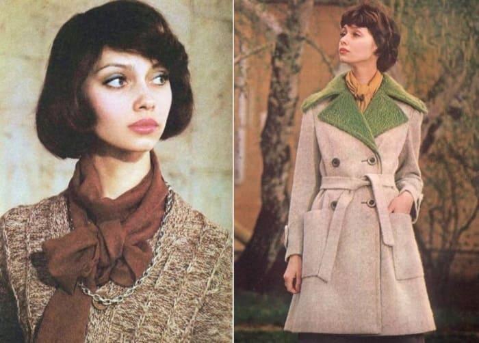 Елена Метелкина в советских журналах мод, 1975-1976 | Фото: elenametelkina.ru