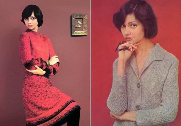 Елена Метелкина в советских журналах мод, 1977 | Фото: elenametelkina.ru