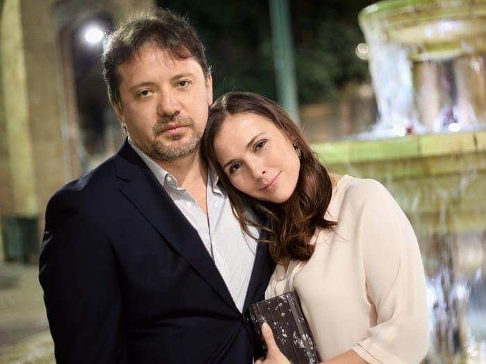 Актриса с мужем   Фото: womanhit.ru