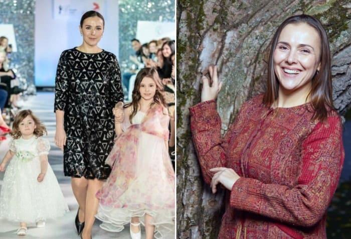 Актриса с дочерьми   Фото: starhit.ru