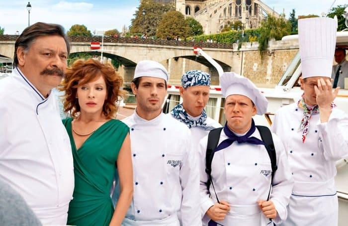 Кадр из фильма *Кухня в Париже*, 2014 | Фото: 7days.ru