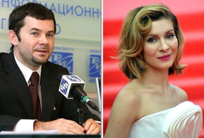 Актриса и ее первый муж Александр Пляцев | Фото: kaprizulka.mediasole.ru