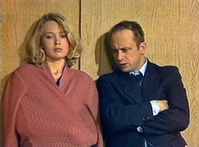 Кадр из телеспектакля *Криминальный талант*, 1985 | Фото: domkino.tv
