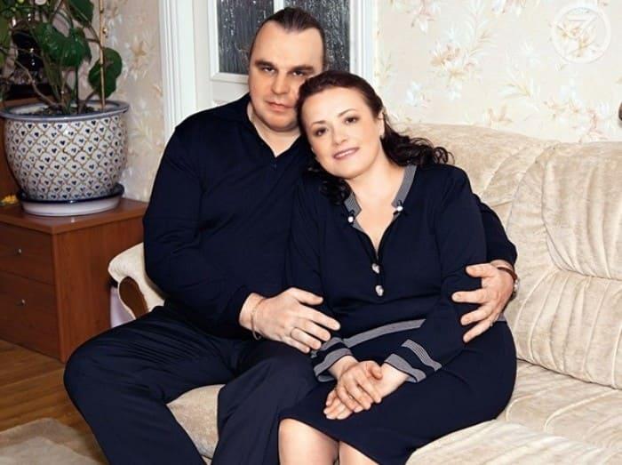 Елена Цыплакова с третьим мужем, Павлом Щербаковым | Фото: kino-teatr.ru