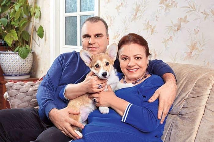 Елена Цыплакова с третьим мужем, Павлом Щербаковым | Фото: wday.ru