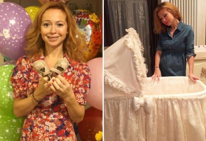 Материнство подарило актрисе настоящее счастье | Фото: starhit.ru, vokrug.tv