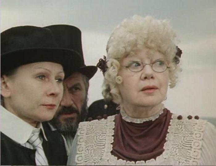 Кадр из фильма *Пеппи Длинный чулок*, 1984