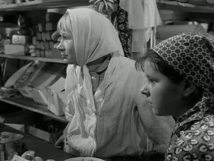 Кадр из фильма *Полустанок*, 1963