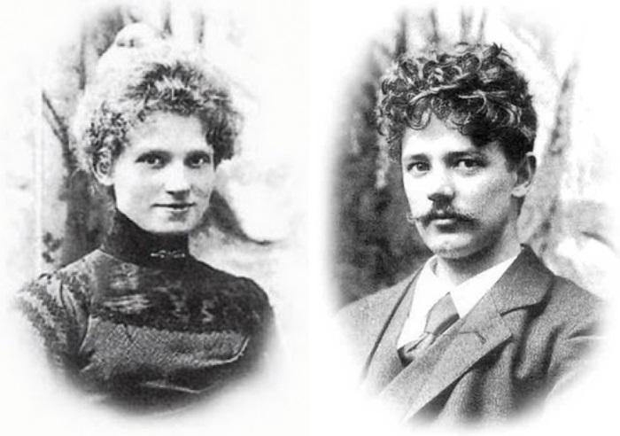Автор *Русалочки* скульптор Эдвард Эриксен и его жена Элине | Фото: dayonline.ru