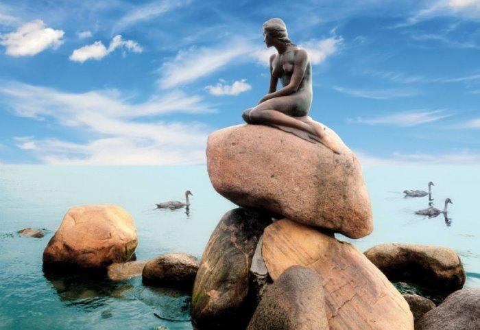 Самая знаменитая достопримечательность Копенгагена | Фото: nice-places.com
