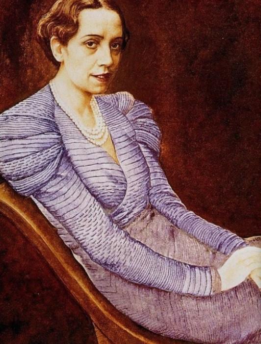 Жан Дюнан. Эльза Скиапарелли, 1933