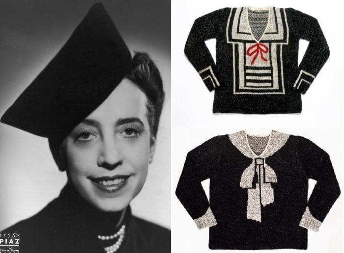 Эльза Скиапарелли и ее находка – свитера с вывязанными бантами-обманками