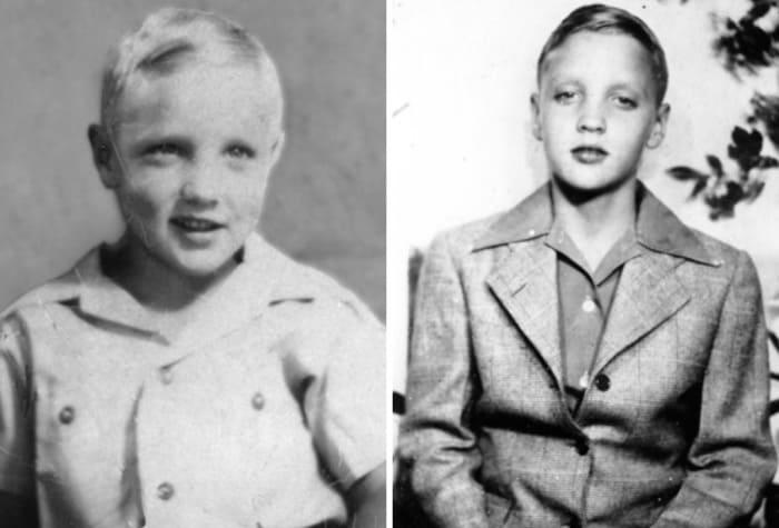Элвис в детстве | Фото: gazeta.ua