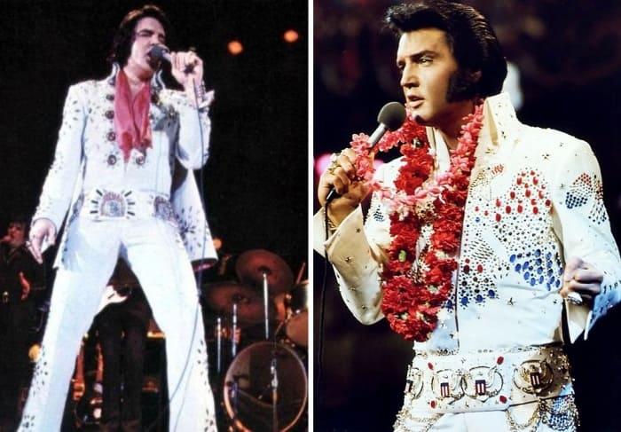 На сцене певец всегда появлялся в эпатажных костюмах | Фото: 24tv.ua и teleprogramma.pro