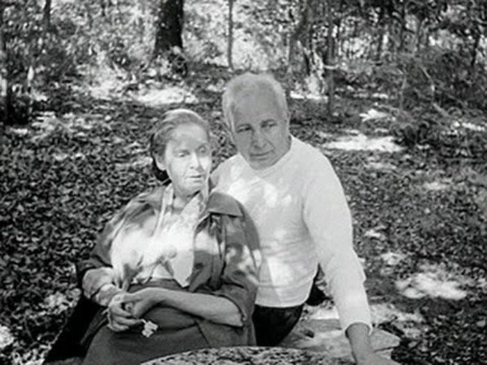 Эльза Триоле и Луи Арагон