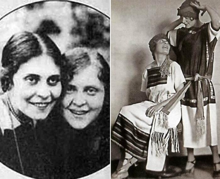 Сестры Лиля Брик и Эльза Триоле