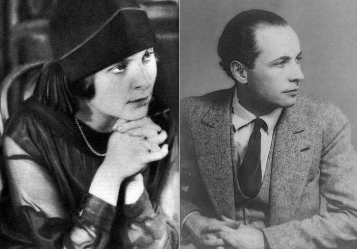 Эльза Триоле и Луи Арагон. Париж, 1925
