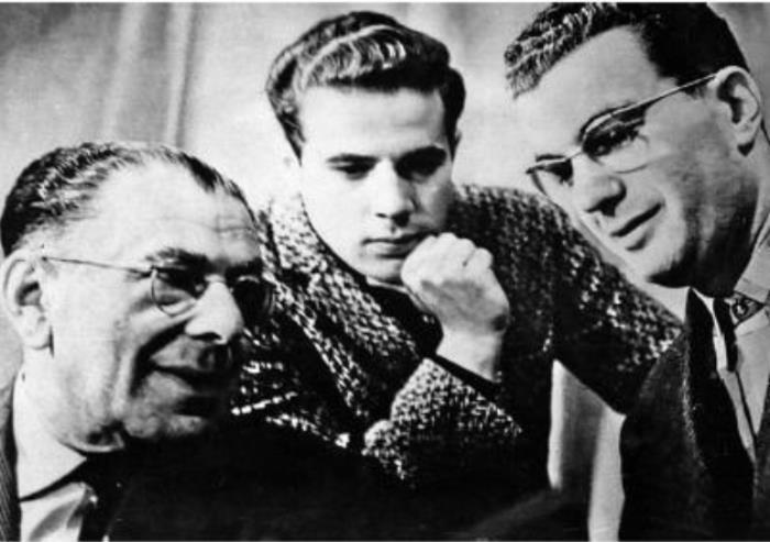 Эмиль Кио с сыновьями, 1963 | Фото: kodges.ru