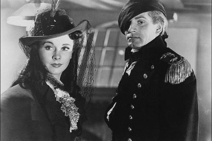 Кадр из фильма *Леди Гамильтон*, 1941