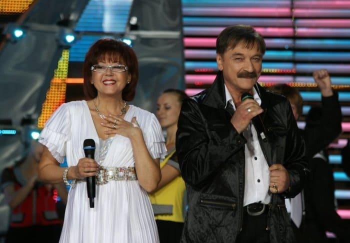 Ядвига Поплавская и Александр Тиханович на сцене, 2008 | Фото: m24.ru