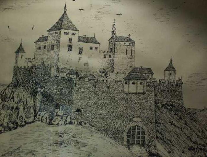 Замок Чахтице в Словакии, где жила графиня Батори с мужем