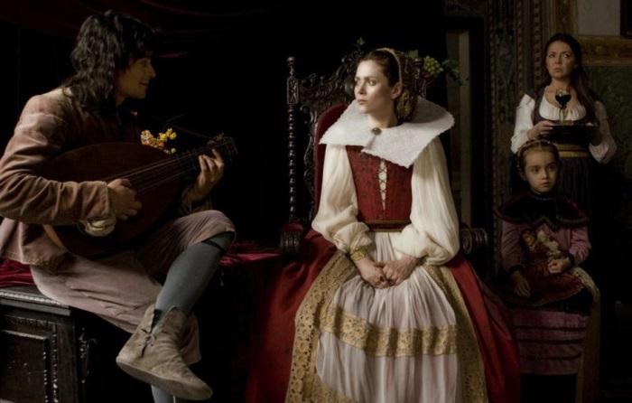 Кадр из фильма *Кровавая графиня – Батори*, 2008