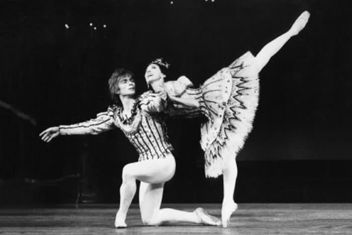 Рудольф Нуреев с балериной Марго Фонтейн | Фото: 24smi.org