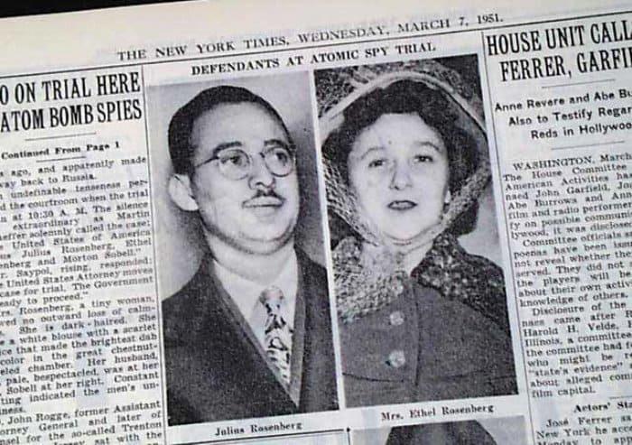 О супругах-шпионах писали во всех газетах | Фото: rarenewspapers.com